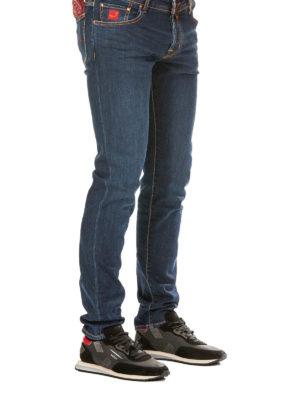 JACOB COHEN: jeans skinny online - Jeans cinque tasche a vita bassa