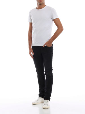 a sigaretta - Jeans cinque tasche neri Style 622