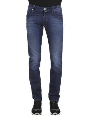 a sigaretta - Jeans J622 in denim lavaggio scuro