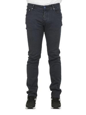 a sigaretta - Jeans PW688 in cotone stretch nero