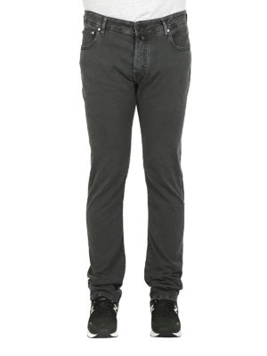 a sigaretta - Jeans PW688 in cotone grigio scuro
