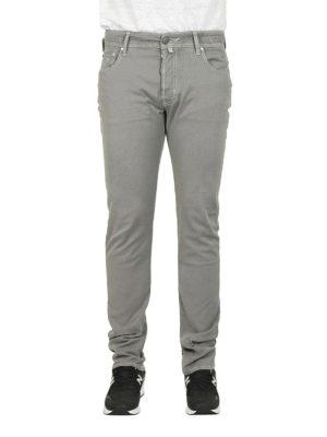 a sigaretta - Jeans PW688 in cotone grigio