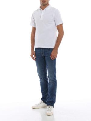 a sigaretta - Jeans stretch con fazzoletto profumato
