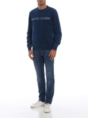 JACOB COHEN: Felpe e maglie online - Sweatshirt con logo