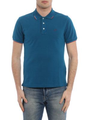 Jacob Cohen: polo shirts online - Striped trim polo shirt