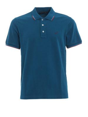 Jacob Cohen: polo shirts - Striped trim polo shirt
