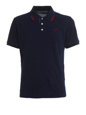 Jacob Cohen: polo shirts - Washed pique polo shirt