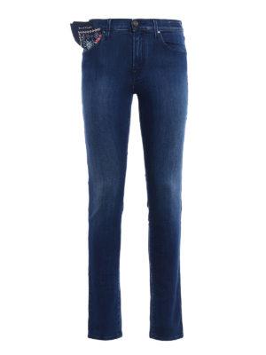 Jacob Cohen: skinny jeans - Kimberly Slim stretch denim jeans