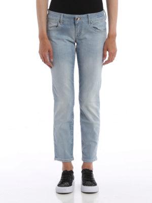 Jacob Cohen: skinny jeans online - Kristel crop slim jeans