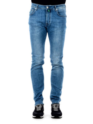 Jacob Cohen: skinny jeans online - Scented handkerchief classic jeans