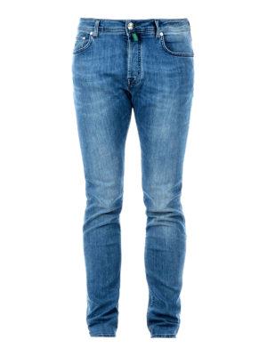 Jacob Cohen: skinny jeans - Scented handkerchief classic jeans