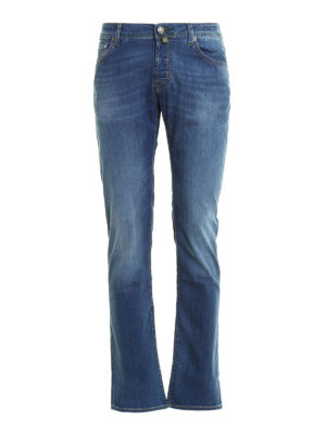 Jacob Cohen: straight leg jeans - 622 Washed jeans
