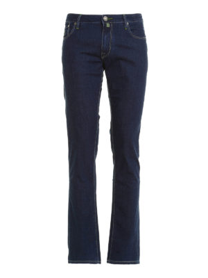 Jacob Cohen: straight leg jeans - 696 five pocket jeans