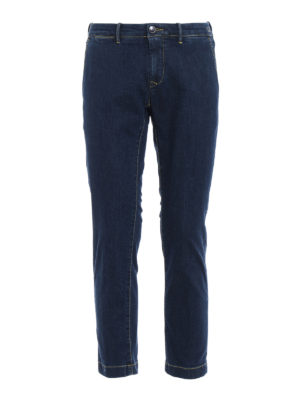 Jacob Cohen: straight leg jeans - Academy chino jeans