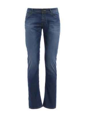 Jacob Cohen: straight leg jeans - Camu label jeans