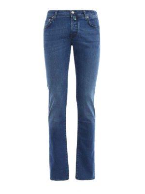 Jacob Cohen: straight leg jeans - Denim classic jeans