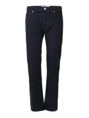 Jacob Cohen: straight leg jeans - Denim tailored jeans
