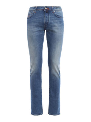 Jacob Cohen: straight leg jeans - Five pocket jeans