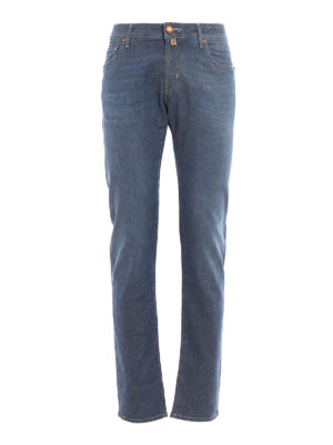 Jacob Cohen: straight leg jeans - Handmade tailored jeans
