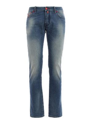 Jacob Cohen: straight leg jeans - J622 Paddle medium wash jeans