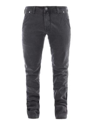 Jacob Cohen: straight leg jeans - Jeans with oblique pockets