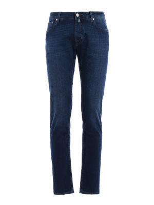 Jacob Cohen: straight leg jeans - Jet Set tailored jeans