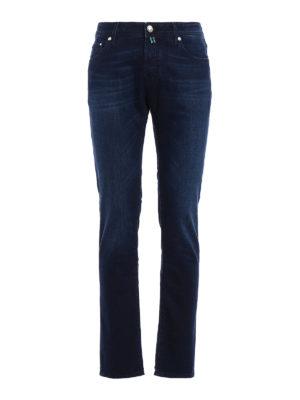 Jacob Cohen: straight leg jeans - Jet Set tailored jeans