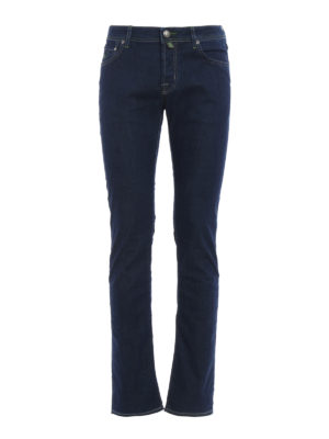 Jacob Cohen: straight leg jeans - Light denim jeans