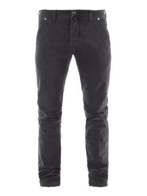 Jacob Cohen: straight leg jeans - Oblique pockets detailed jeans