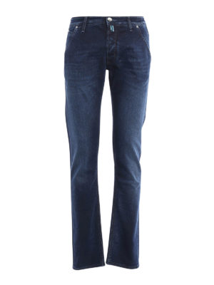 Jacob Cohen: straight leg jeans - Oblique pockets jeans