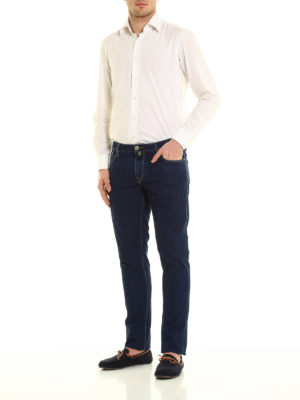Jacob Cohen: straight leg jeans online - 696 five pocket jeans