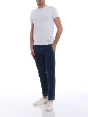 Jacob Cohen: straight leg jeans online - Academy chino jeans