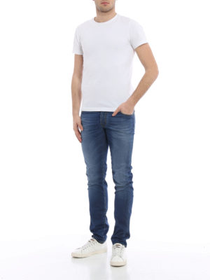 Jacob Cohen: straight leg jeans online - Camu label jeans