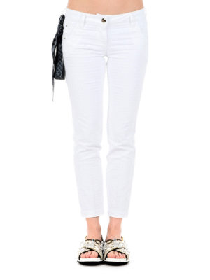 Jacob Cohen: straight leg jeans online - Chloe jeans with handkerchief