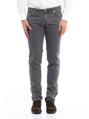Jacob Cohen: straight leg jeans online - Cotton jeans