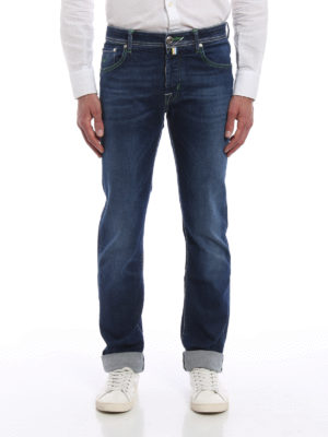 Jacob Cohen: straight leg jeans online - Five pocket jeans