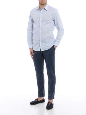 Jacob Cohen: straight leg jeans online - Garment dyed cotton jeans