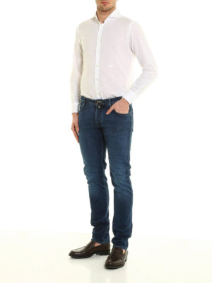 Jacob Cohen: straight leg jeans online - J622 exclusive denim jeans