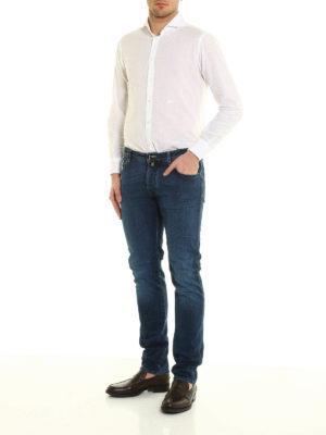 Jacob Cohen: straight leg jeans online - J622 exclusive denim jeans