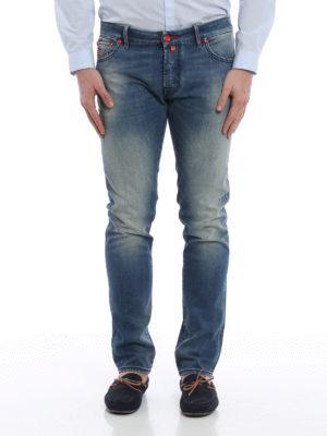 Jacob Cohen: straight leg jeans online - J622 Paddle medium wash jeans