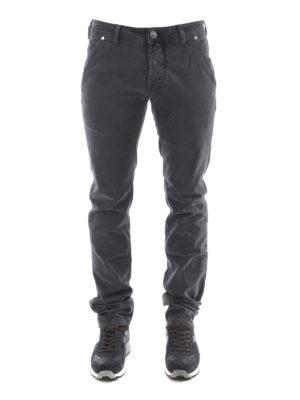 Jacob Cohen: straight leg jeans online - Jeans with oblique pockets