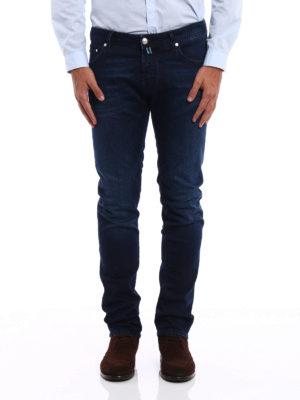 Jacob Cohen: straight leg jeans online - Jet Set tailored jeans