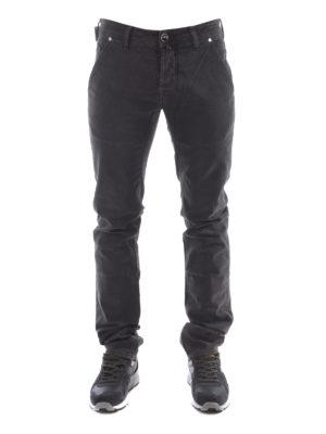 Jacob Cohen: straight leg jeans online - Oblique pockets detailed jeans