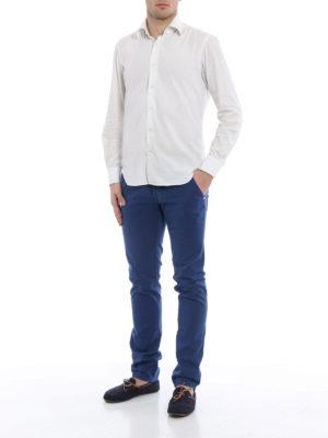 Jacob Cohen: straight leg jeans online - Plain colour jeans