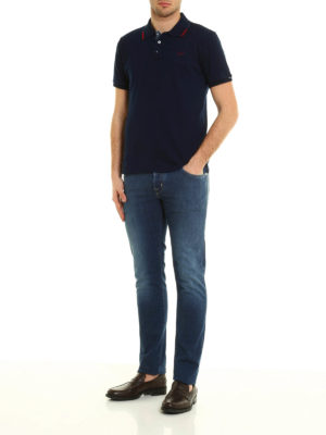 Jacob Cohen: straight leg jeans online - PW622 denim jeans
