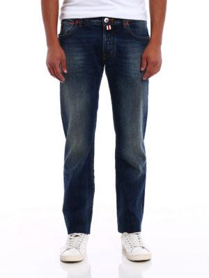 Jacob Cohen: straight leg jeans online - Rising Sun jeans