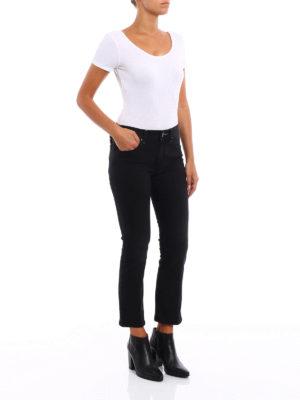 Jacob Cohen: straight leg jeans online - Robin crop jeans