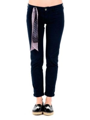 Jacob Cohen: straight leg jeans online - Sophie crop jeans with handkerchief