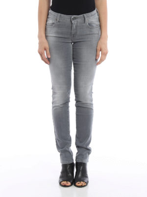 Jacob Cohen: straight leg jeans online - Stone wash denim jeans