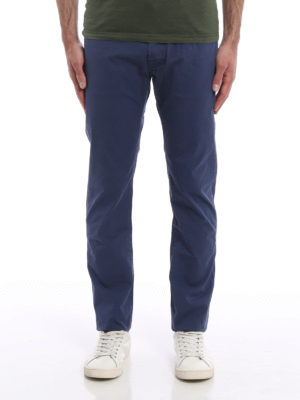 Jacob Cohen: straight leg jeans online - Stretch cotton jeans